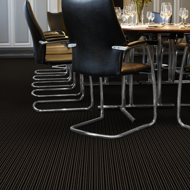Berwick Lennel striped tufted carpet from Wilton Carpets