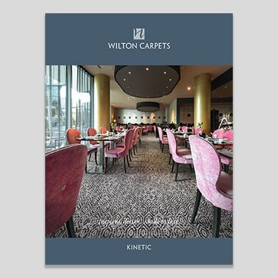 Kinetic 7-row axminster broadloom caret range from Wilton Carpets