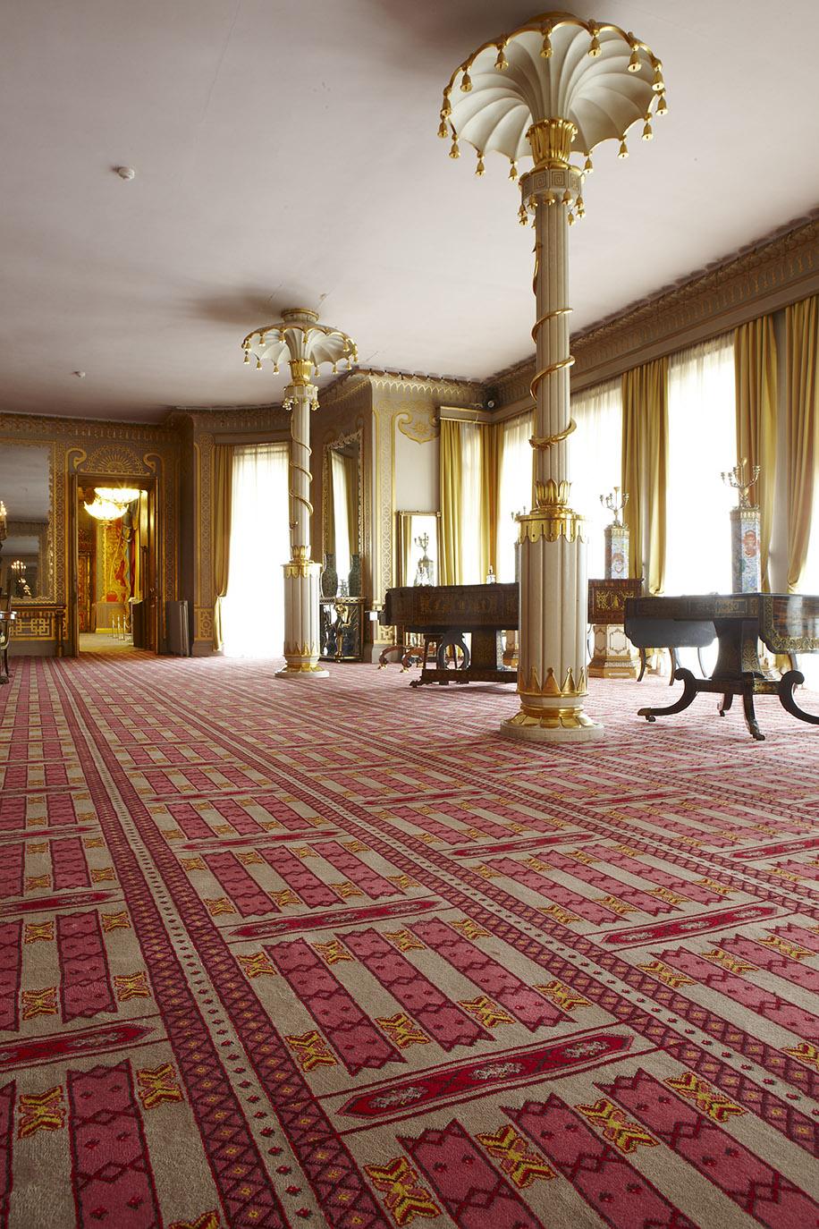 Case Study Brighton Pavilion Wilton Commercial Carpets