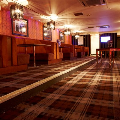 Chicago Rock Cafe, Windsor, Wilton Carpets Bespoke