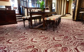 Tiles Take On A Textile Dimension At The County Hotel