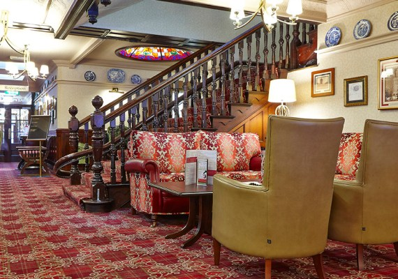 George Hotel Penrith Cumbria, Wilton Bespoke Carpet