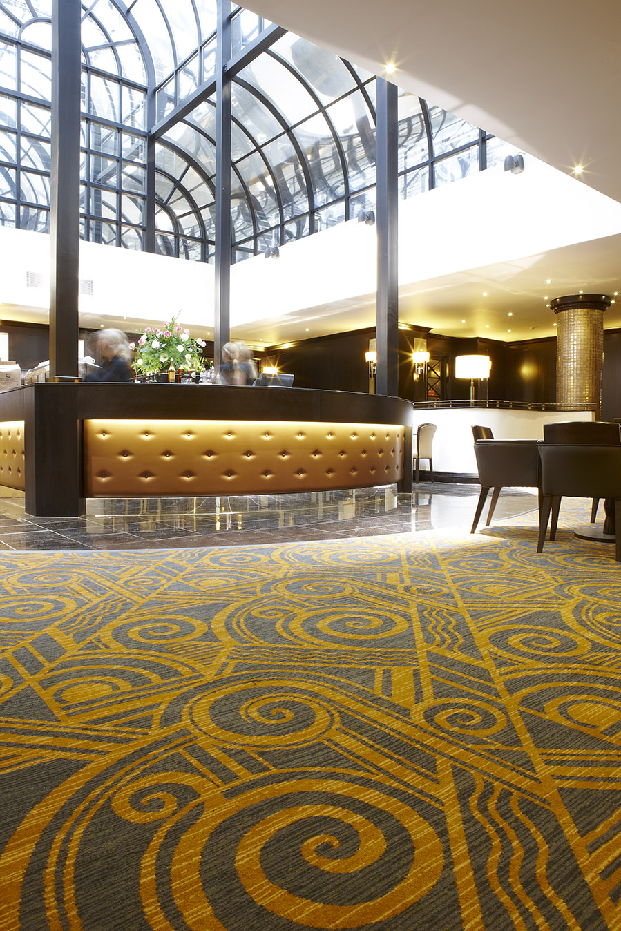 Imperial London Atrium Bar Wilton Carpets