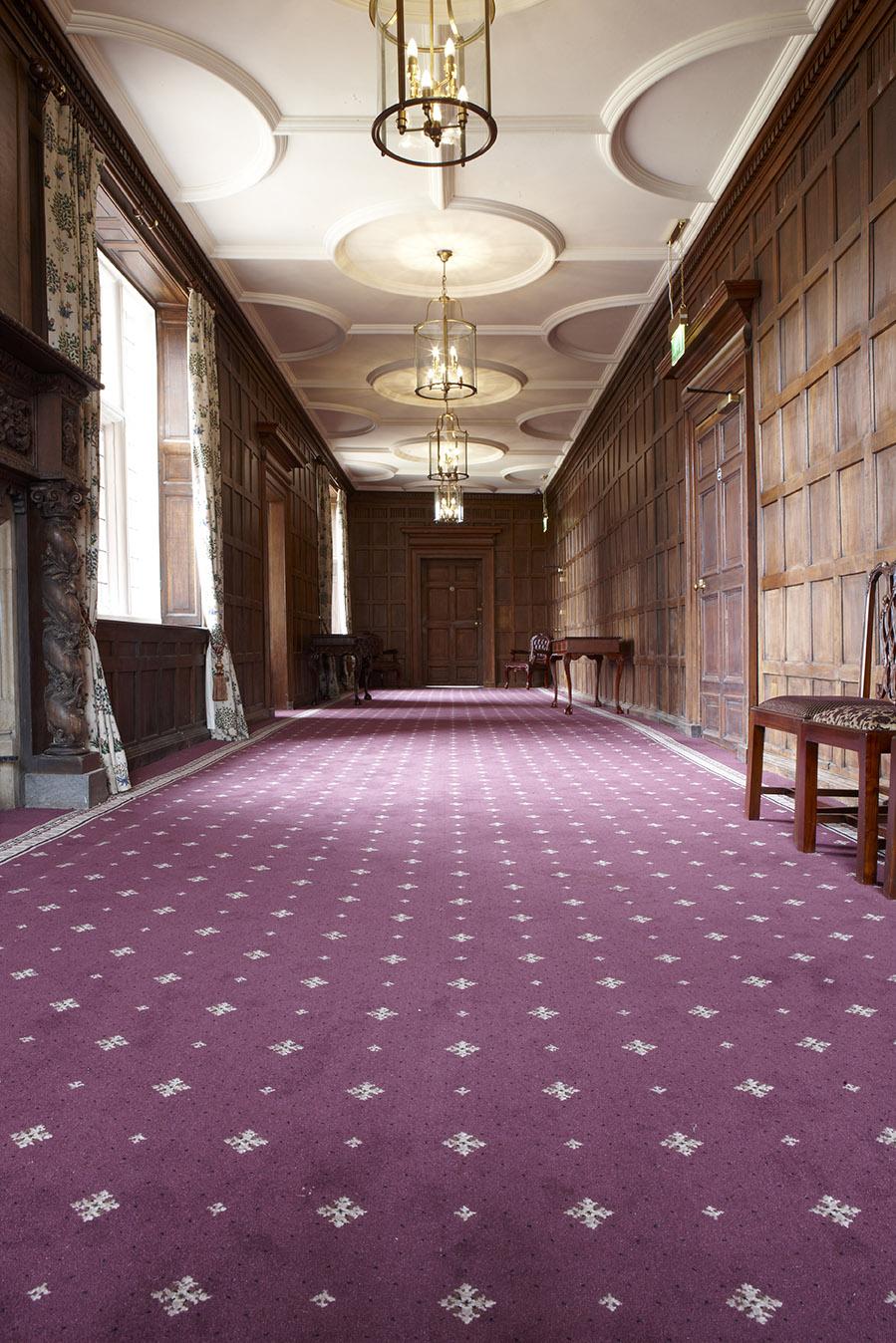 Bespoke Woven Beauty For Castle Bromwich Hotel Wilton