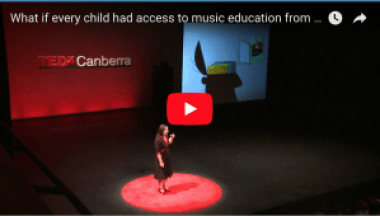 What is every child had access to music education from birth