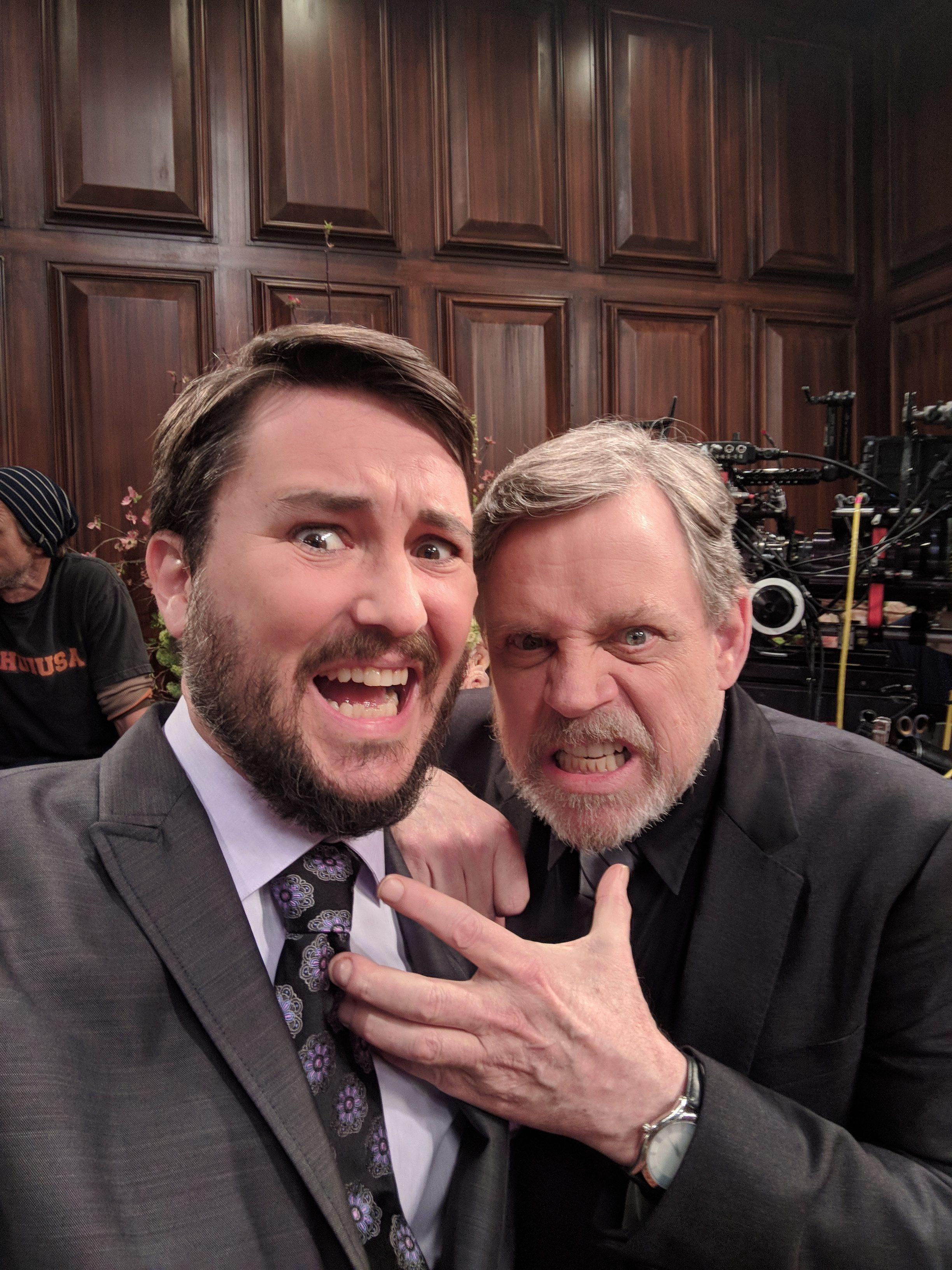 Image result for wil wheaton and mark hamill