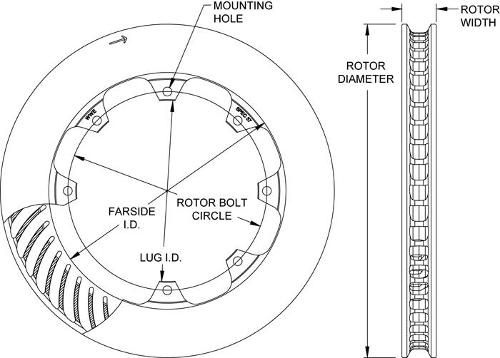 Rotor No: 160-13497