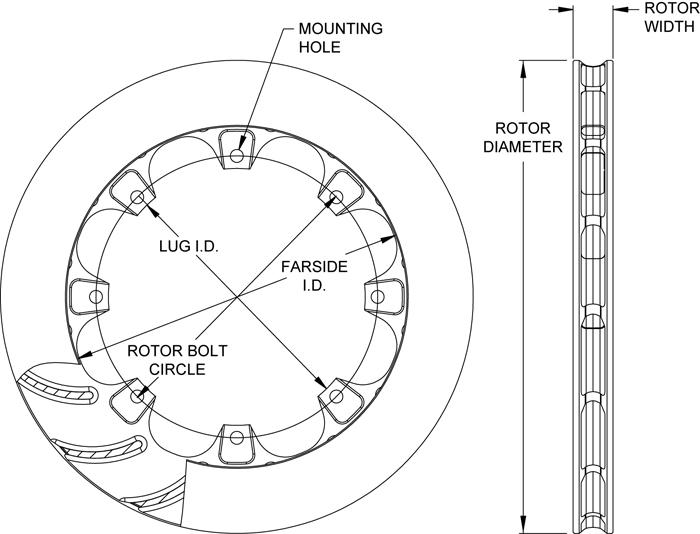 Rotor No: 160-13978