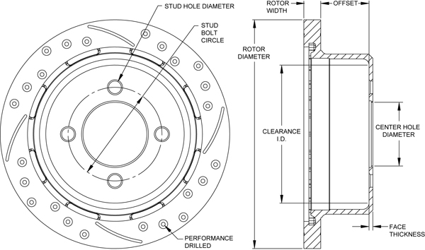 Rotor No: 160-12755-bk
