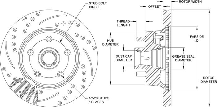 Rotor No: 160-13483-bk