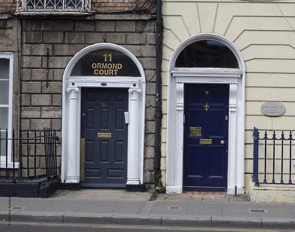 twee blauwe deuren, Dublin