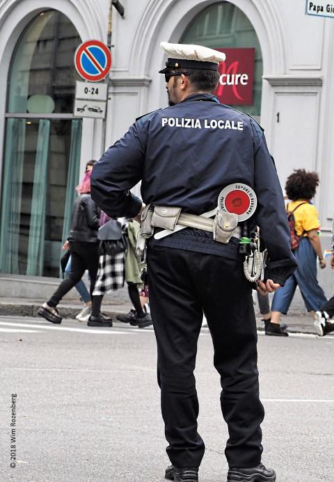 politieagent, Bergamo
