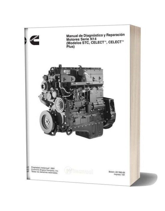 cummins n14 celect y plus diagnostic manual
