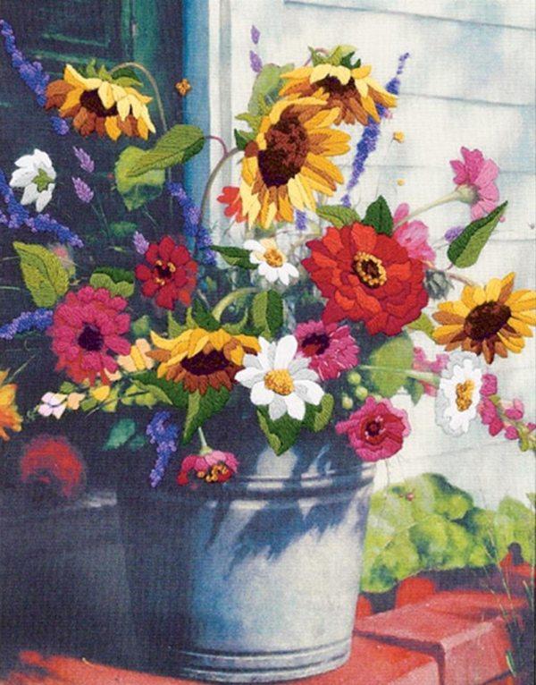u-Pick Flower Bucket