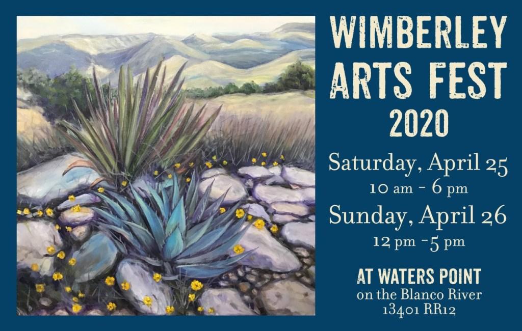 WIMBERLEY ARTS FESTS 2020
