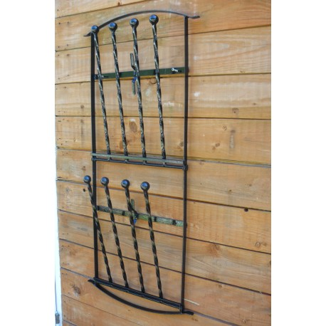 wellington boot wall mounted wellie rack wrought iron 2 to 6 pairs