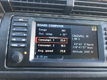 X5 Radio Consumption 25.0 MPG