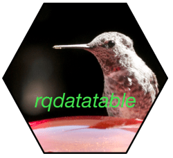 Rqdatatable