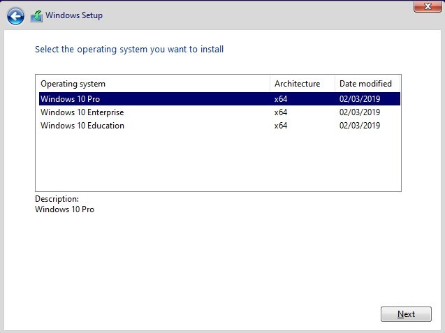 windows 10 education 1809 iso download