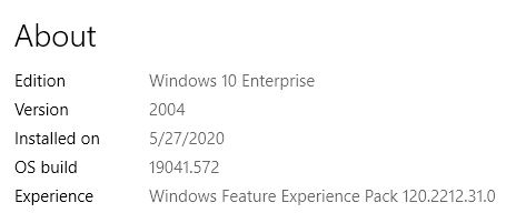 On Patch Tuesday, we get a CU but no 20H2 GA release.