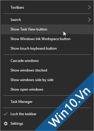 Task View button