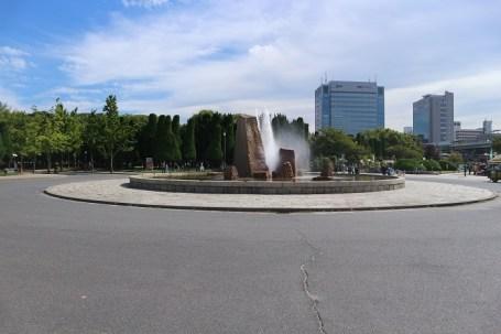 fountain from the garden