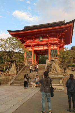 What is it with Japanese and big gates for their temples?