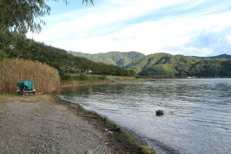 Another angle of Lake Kawaguchiko