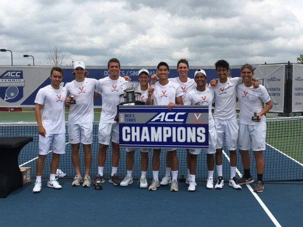 UVA claims another NCAA men's tennis championship | 106.1 ...