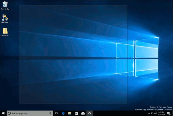 How to enable Aero Peek in Windows 10