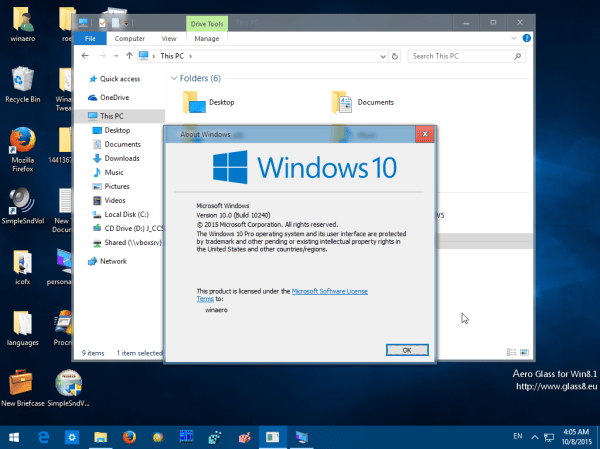 Aero Glass 1.5.11 - Software Updates - nsane.forums