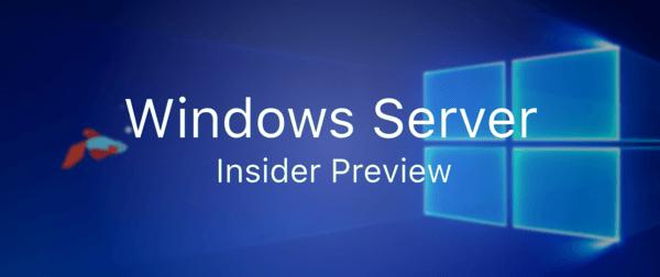 Windows Server 2019 Insider build 17744 Multi Versions – DreamiFly Blog