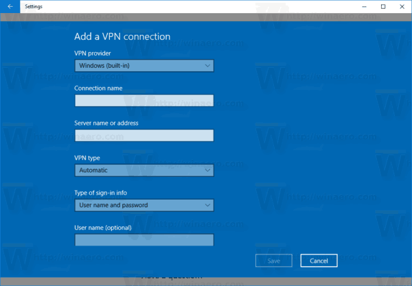 How To Set Up a VPN Connection in Windows 10