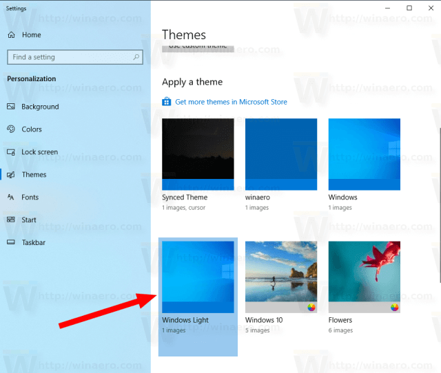 Windows 10 Enable Light Theme