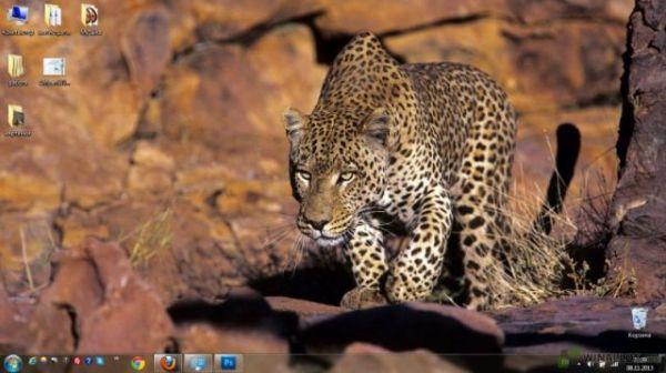 Дикая природа Африки » Оформление Windows 7:8:10 - темы ...