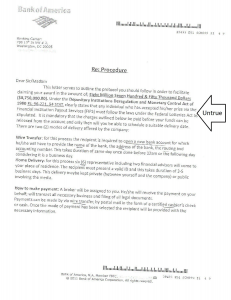 Scam letter Page 2