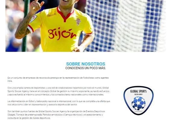 Agencia de jugadores de fútbol globalsportssoccer.com