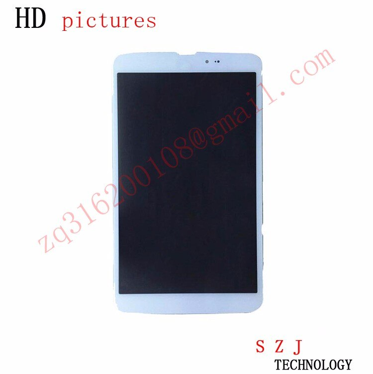 New 8.3'' inch For LG G Pad 8.3 V500 Wifi and 3G Version LCD DIsplay + Touch Screen Digitizer Glass Assembly Free shipping