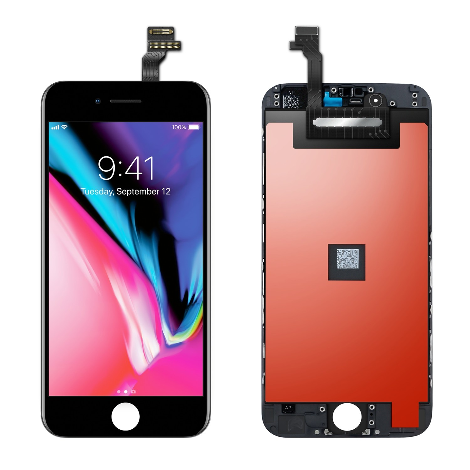 AAA+ Pantalla For iPhone 6 6S 7 8 Plus LCD Display Touch Screen Digitizer Frame Full Assembly For iPhone 5 5C 5S SE LCD Screen