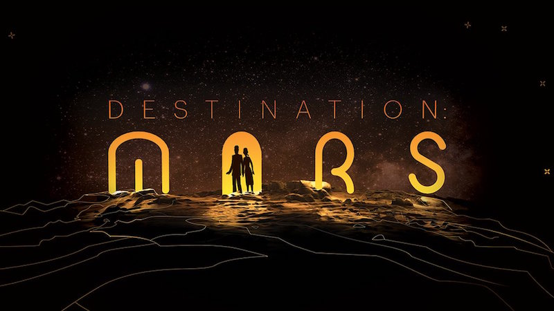 three mobile HoloLens Used for NASA's New Destination Mars Exhibit ...