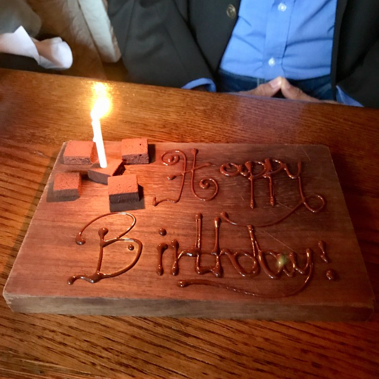 The Hinds Head Birthday Plate