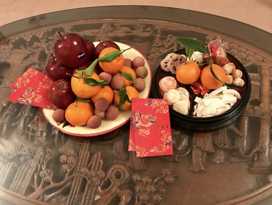Sweets and Fruit Decoration