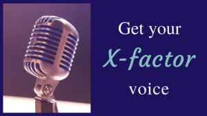 Get your X-Factor Voice