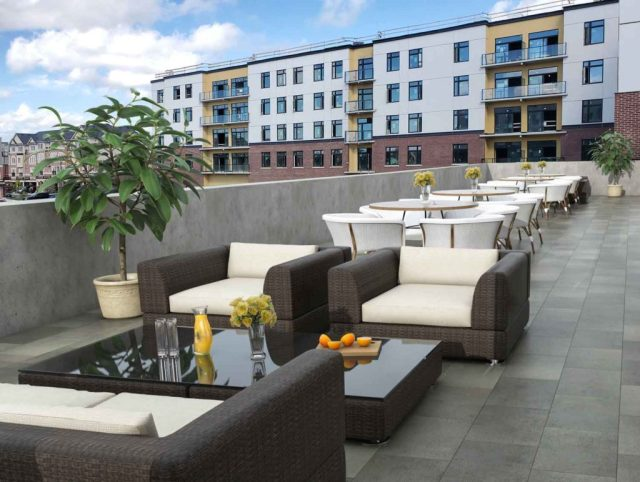 Roof top patio - A place to unwind and relax