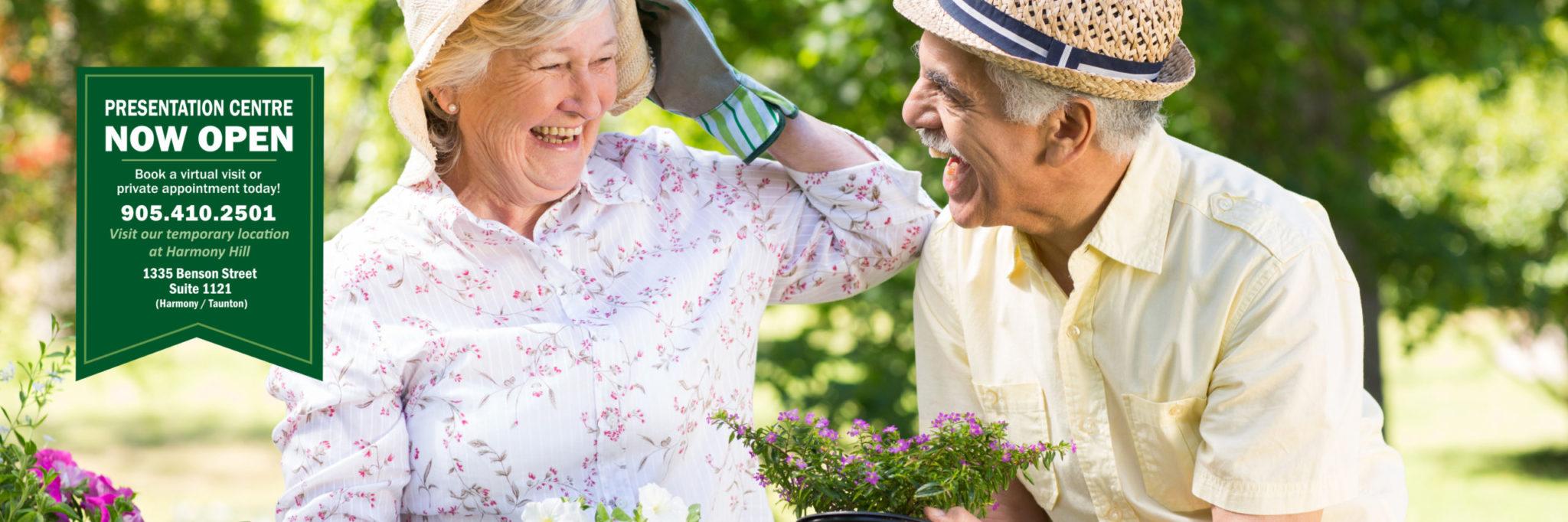 Gardening activities at Winchester Glen
