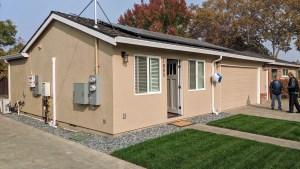 Exterior of San Jose ADU