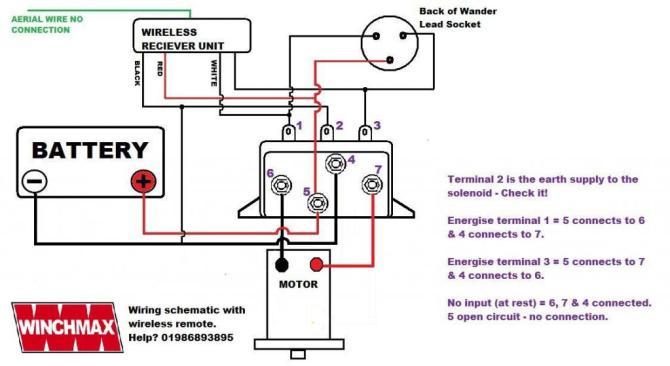 wireless winch remote control twin handset 24v 24 volt  ebay
