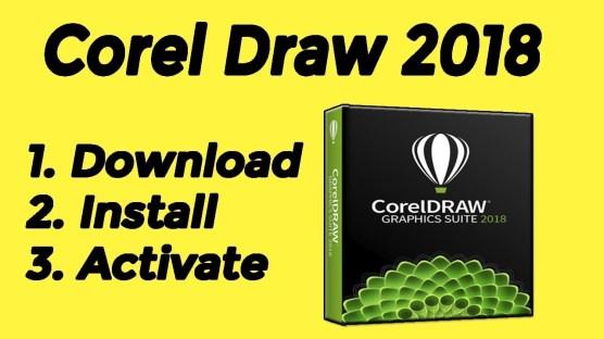 CorelDRAW 2018 Full Crack with Serial Number + Keygen 32/64 bIT