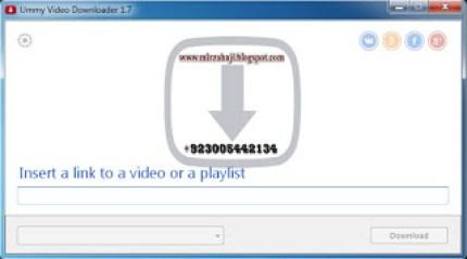 Ummy Video Downloader Crack + Serial key Free Download