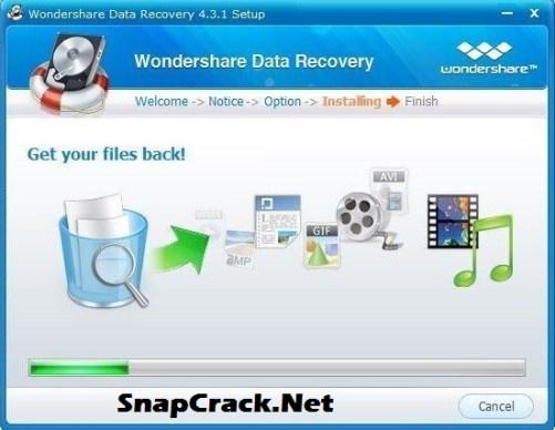 descargar wondershare data recovery full